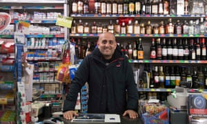 Store owner Raj Banga in Channel 4's Immigration Street.