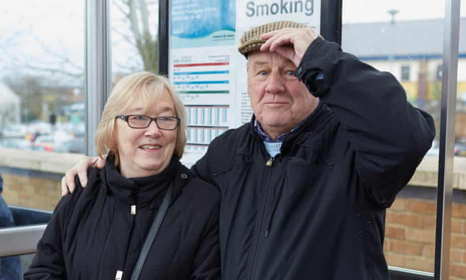 Thomas and Barbara Street, in Gray's, Essex, are considering voting for Ukip in May.