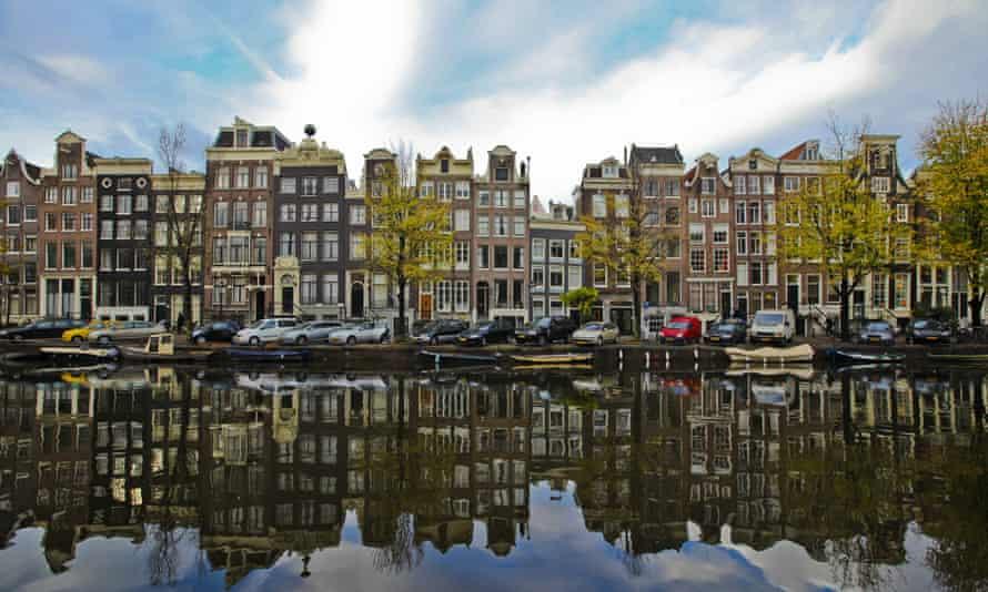 17th-century merchants' buildings in Amsterdam.