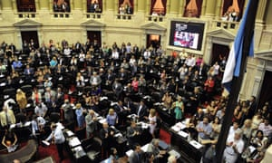 Argentina's chamber of deputies