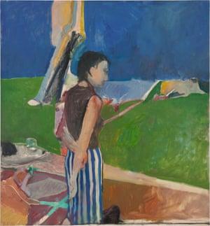 Richard Diebenkorn's Girl On a Terrace, 1956.