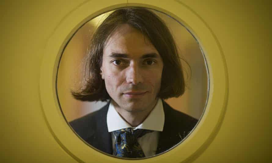 French mathematician Cedric Villani.
