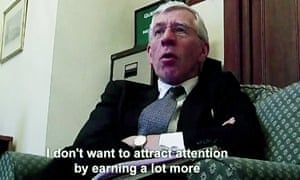 Jack Straw in Channel 4's 'toe‑curling' Dispatches programme.