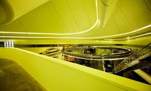 The award-winning Riverside Museum by architect Zaha Hadid, Glasgow.
