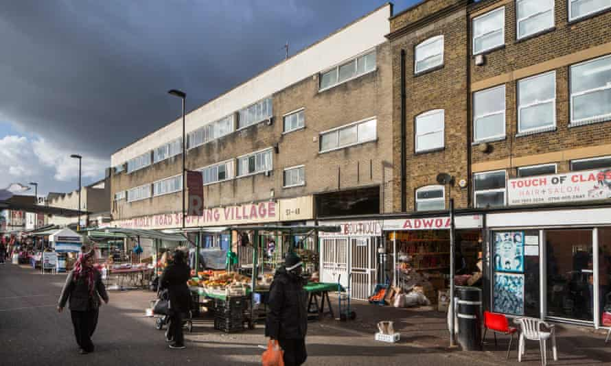 Ridley Road Market in Hackney.