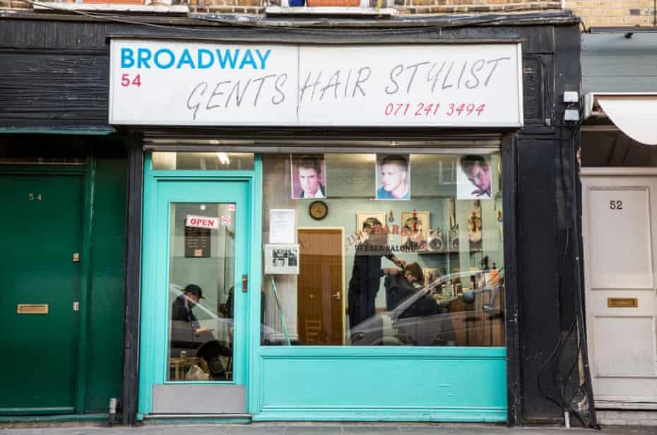 Broadway Gents Hair Stylist in Broadway Market, Hackney.