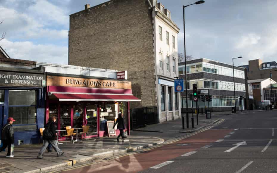 Bungalow's Cafe on Mare Street.