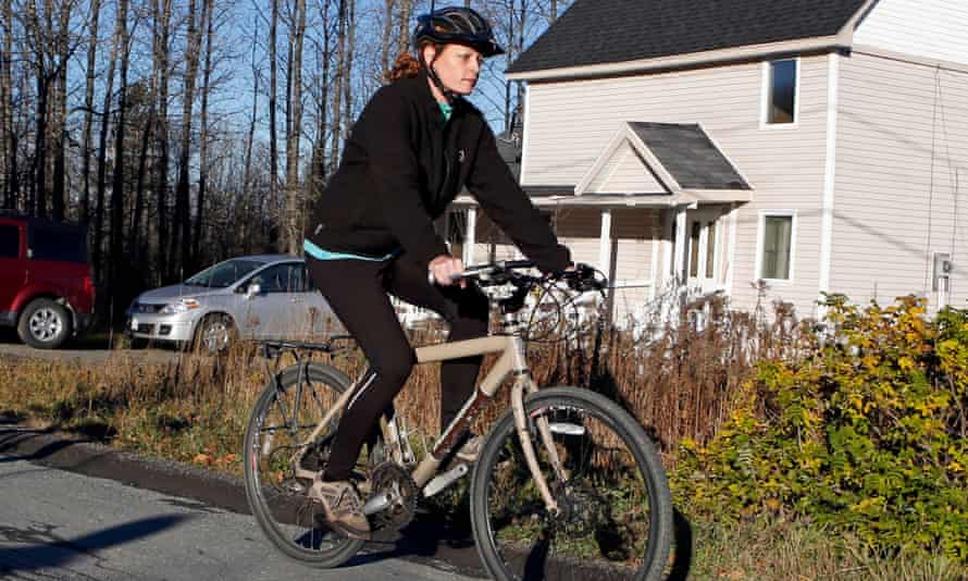 Kaci Hickox defied quarantine by going for a bike ride after her return from west Africa