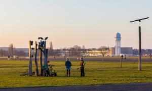 Tempelhof park.