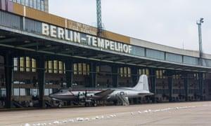 Former Tempelhof airport, Berlin.