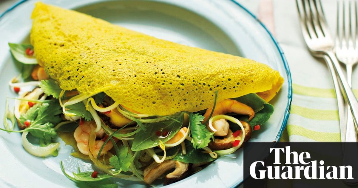 Banh xeo – dairy-free recipe