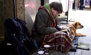 Some 2,774 people were recorded as having slept rough in England in 2014, up from 2,414 the previous year.