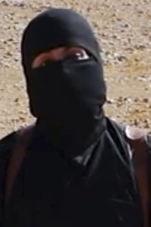 A screengrab of an Islamic State video of Mohammed Emwazi during a hostage beheading.