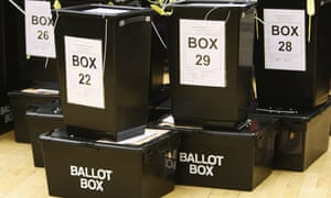 Paper ballots in the UK