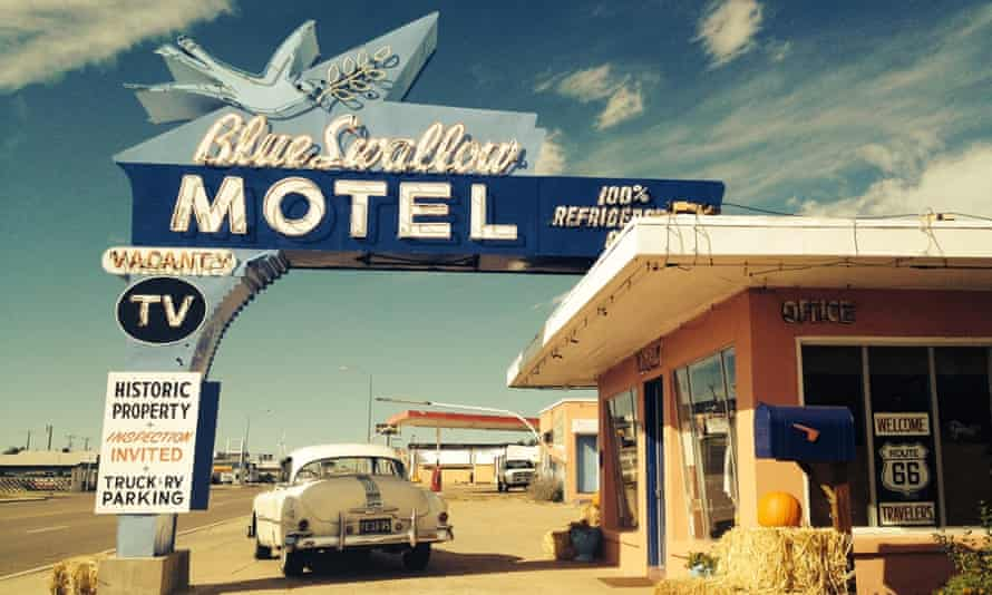 Blue Swallow Motel, New Mexico