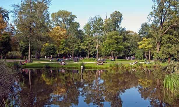 Vondelpark, Amsterdam.