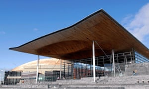 The National Assembly for Wales, Cardiff Bay