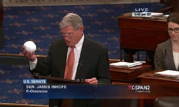 Inhofe on senate floor