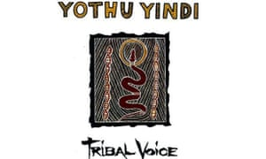 The cover of Yothu Yindi album Tribal Voice, featuring the song Treaty.