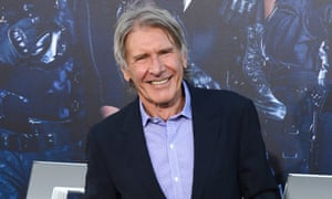 Harrison Ford arrives at a film premiere in Los Angeles, in 2014.
