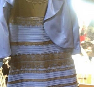 6b9949e191 Is the dress blue and black or white and gold? Photograph: Cecilia Bleasdale