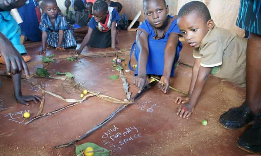 children Uganda social mapping