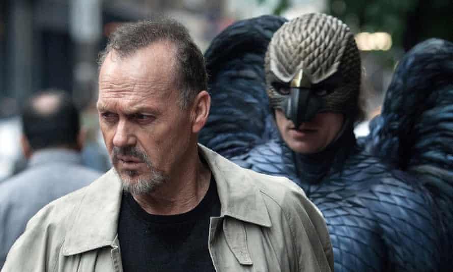 Haunted by his past …Michael Keaton as Riggan in Birdman.