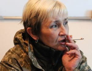 Mama Tanya, one of the women fighting in eastern Ukraine
