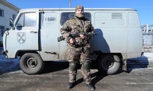 Anaconda, one of the women fighting in Ukraine