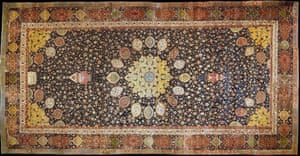 The Arbadil Carpet, c1540, by an Iranian master, at London's V&A Museum.