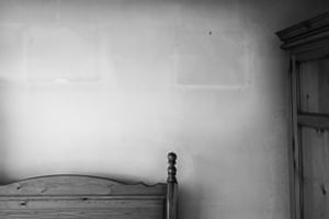 my late Fathers bedroom marks on the wall left by pictures in my late Fathers bedroom