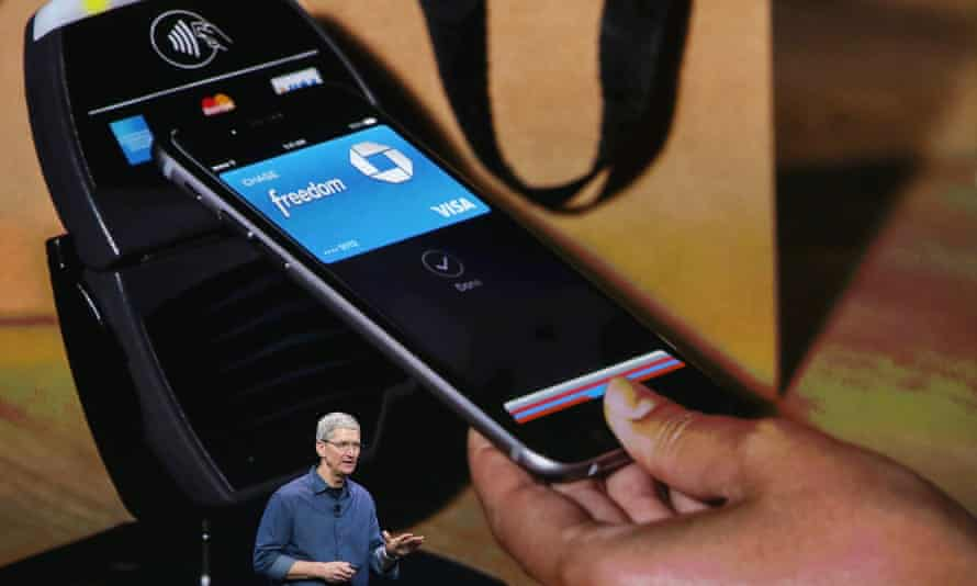 An Apple Pay mobile payment