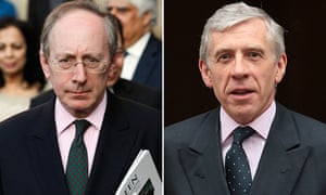 Malcolm Rifkind (left) and Jack Straw