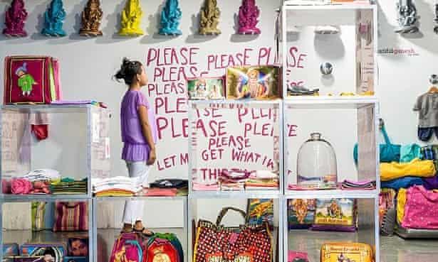 Lola's World, one of several trendy accessories stores in Hauz Khas, New Delhi.