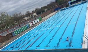 Charlton Lido, first opened in 1939 as an unheated summer only lido - recently refurbished and, now heated and operating all year round