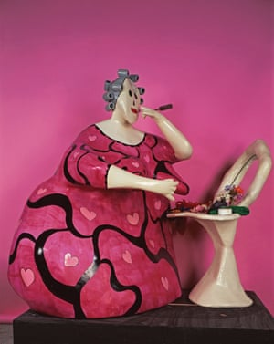 The Toilette (Make Up or Mirror of Life), 1978. Painted papier collé and various objects.