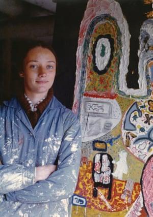 Niki de Saint Phalle in Deià, 1955.