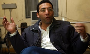 Khaled Salah,  editor-in-chief of one of Egypt's most modern news organisations.