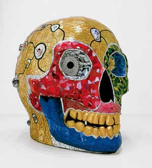 Niki de Saint Phalle. Skull (Meditation Room), 1990.