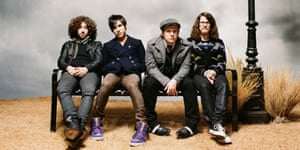 Reformed and renewed: Fall Out Boy.