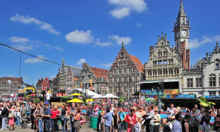 The medieval heart of Ghent is buzzing during the Gentse Feesten.