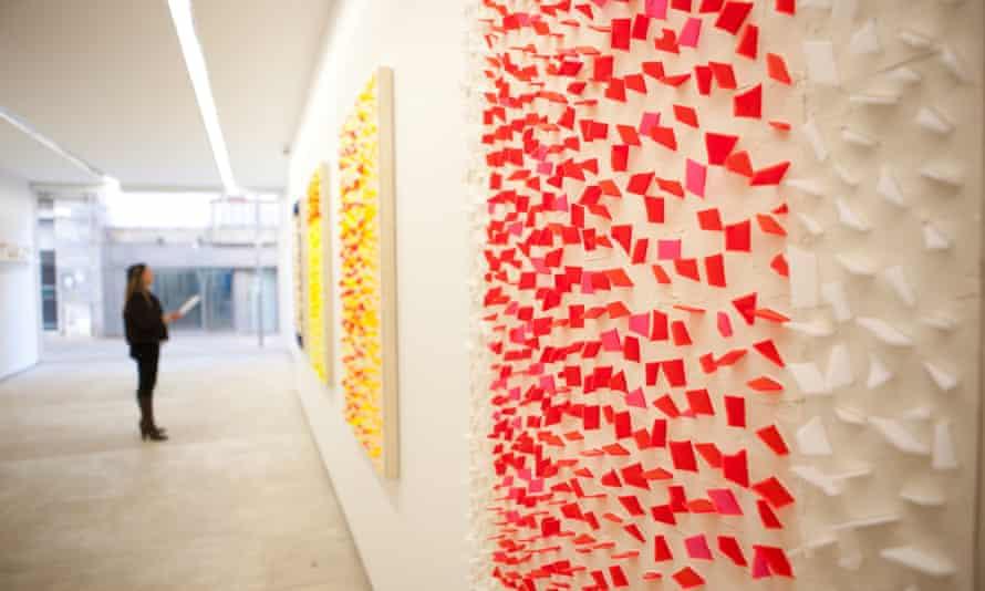 A gallery in Rua de Miguel Bombarda, Porto Portugal.