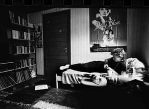 Knausgaard in Bergen, circa 1989.