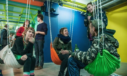 Swing low … Showroom Mama is a hub for the modern arts scene in Rotterdam