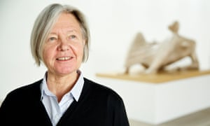 Mary Moore at Yorkshire Sculpture Park where she has co-curated an exhibition called Henry Moore: Back to a Land.