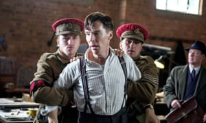 Benedict Cumberbatch playing Alan Turing in the Imitation Game