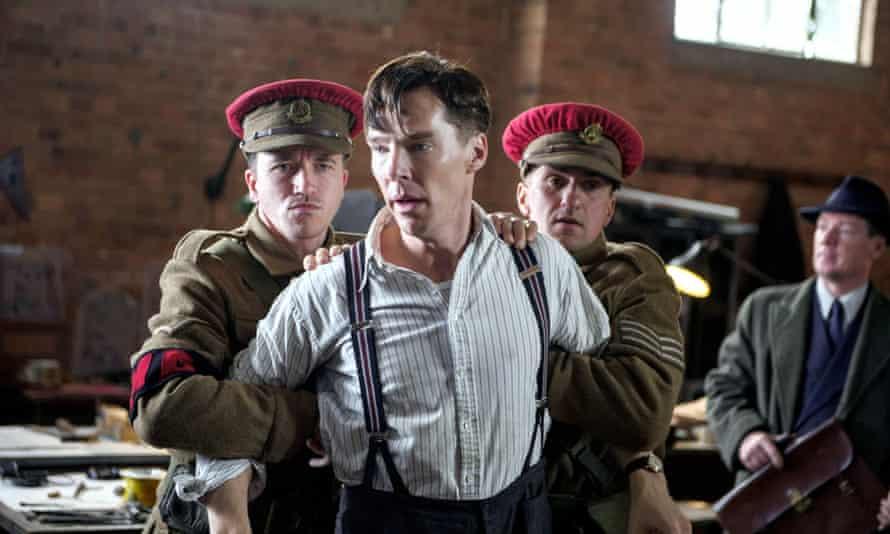 Benedict Cumberbatch playing Alan Turing in the Imitation Game