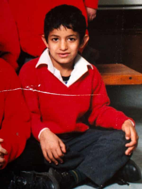 Mohammad Emwazi at Primary School in 1996