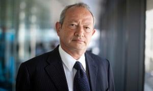 Naguib Sawiris has taken 53% stake in Euronews