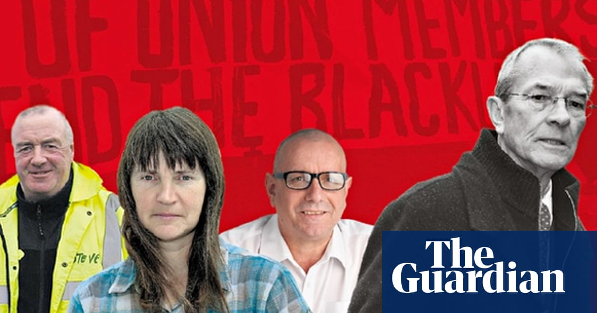 On the blacklist: how did the UK's top building firms get secret